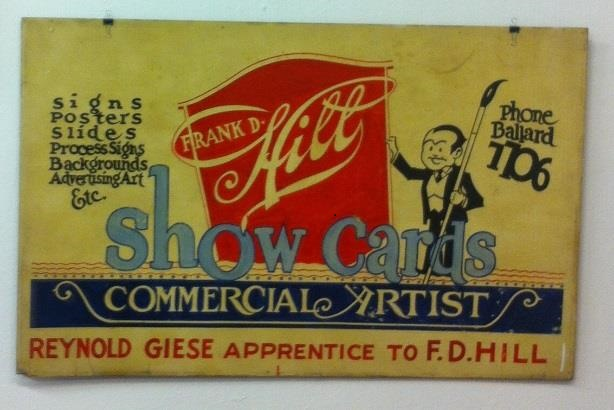 Ray Giese apprentice sign
