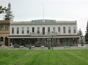 Pacific Hotel building at History Park
