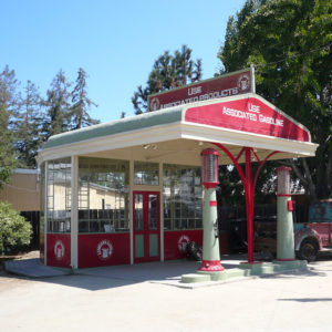 Associated Oil Service Station at History Park, San Jose