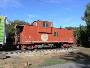 Missouri Pacific Caboose