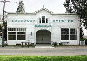 Dashaway Stables at History Park, San Jose, CA