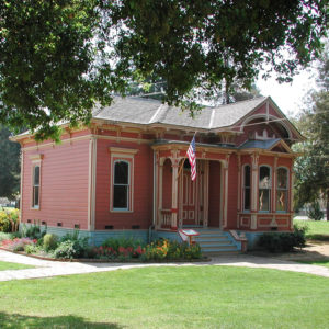 Umbarger House at History Park, San Jose, CA