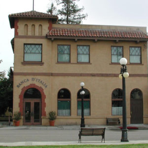 Bank of Italy, History Park, San Jose, CA