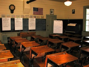 Schoolhouse Interior