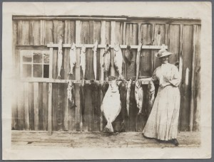 Tillie Brohaska with halibut