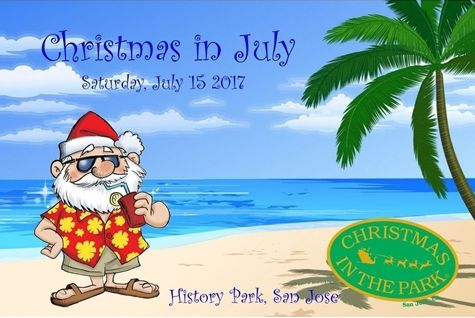 christmas in july graphic - Summer Christmas