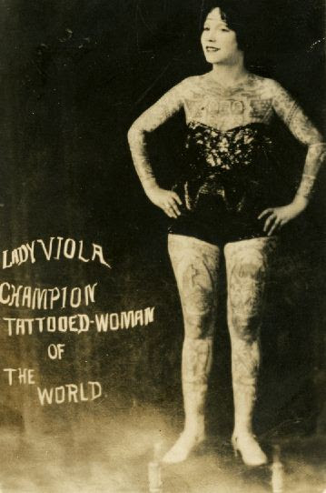 tattooed and tenacious exhibit