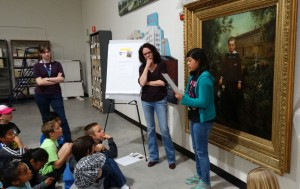 History Detectives with painting